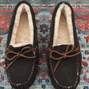 Emu Amity Moccasin Slippers